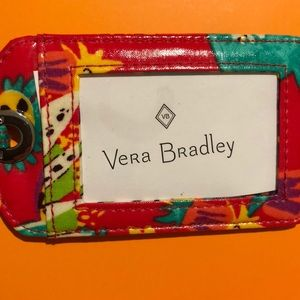 Vera Bradley Leather Luggage Tag